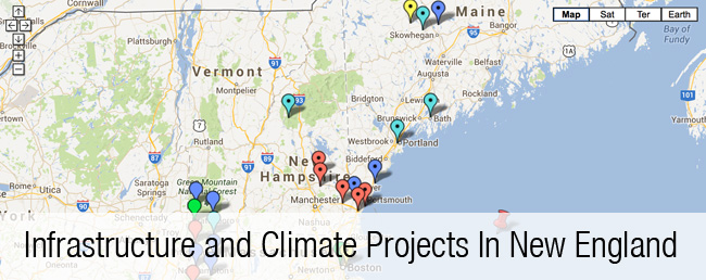 Infrastructure and Climate Projects in New England